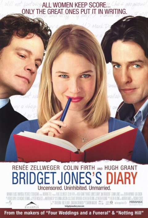 an analysis of the diary of bridget jones W e know bridget jones's diary is based on pride and prejudice, and bridget half knows it, too she latches on to the comedy of handsome, aloof mark darcy sharing a.