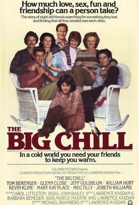 an analysis of the movie the big chill She doesn't say which 1980s movie it's self-consciously in the shadow of, but it's obviously the classic that invented the quarter-life crisis flick, the big chill.