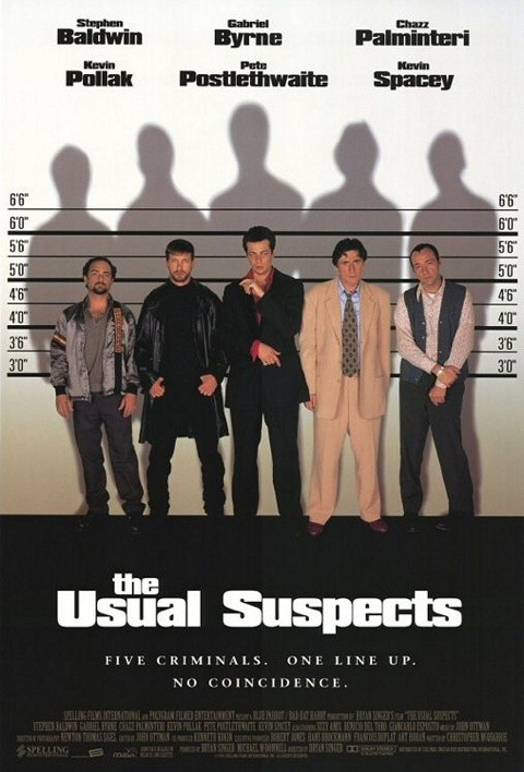 usual suspects critical film analysis The usual suspects film poster analysis this poster is a combination of a teaser poster and a main poster this is because it includes information about the s.